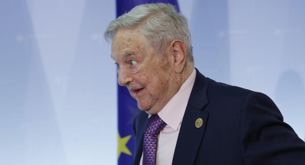 Hungarian-American investor George Soros (File)