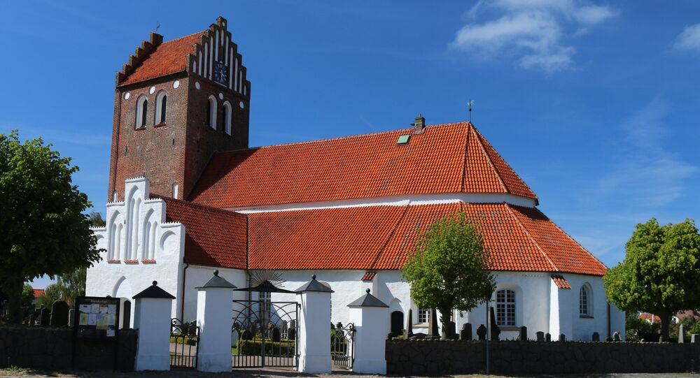 Mariakyrkan church in Bastad