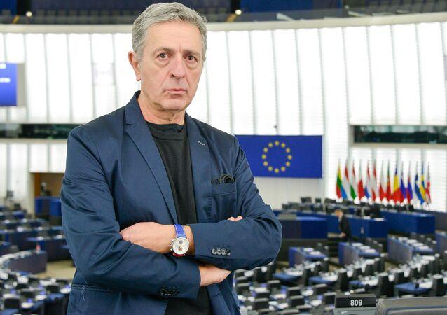 Stelios Kouloglou at European Parliament