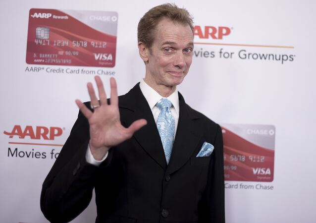 Doug Jones attends the 17th Annual Movies for Grownups Awards at the Beverly Wilshire Hotel on Monday, Feb. 5, 2018, in Beverly Hills, Calif.