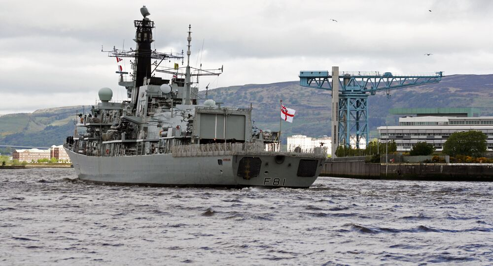 HMS Sutherland F81