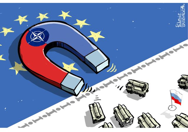 NATO cartoon