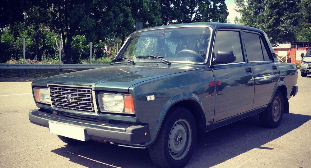 A passenger car VAZ-2107. (File)