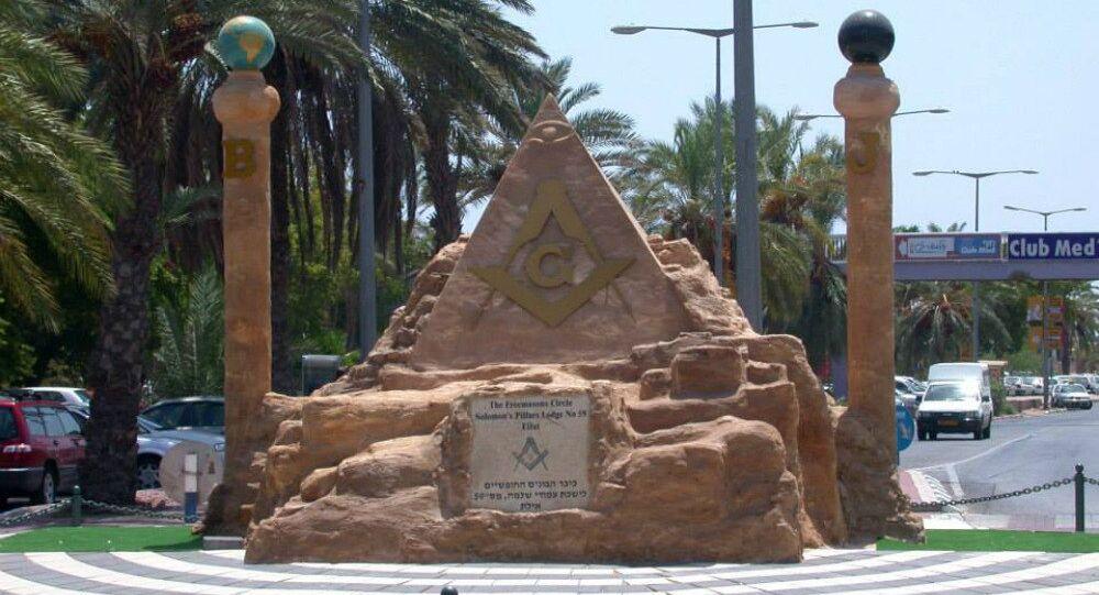 The Masonic circle in Eilat