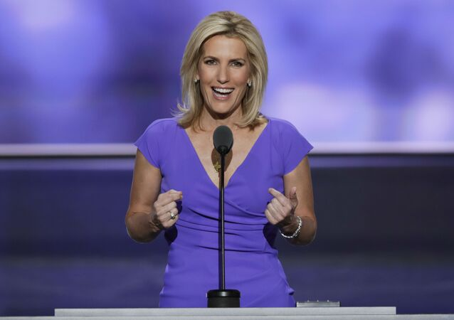 Conservative political commentator Laura Ingraham speaks during the third day of the Republican National Convention in Cleveland. (File)
