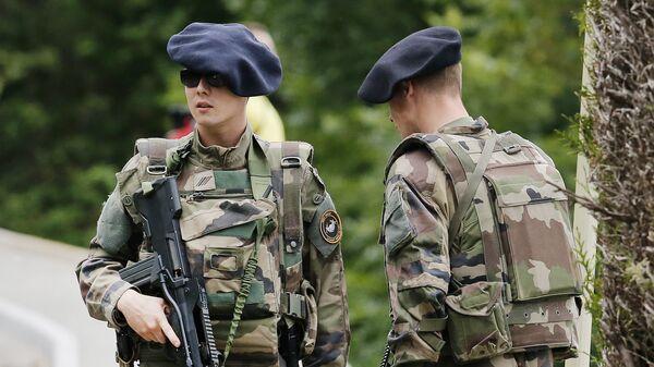 French army soldiers. (File) - Sputnik International