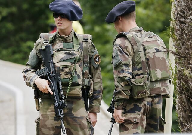 French army soldiers. (File)