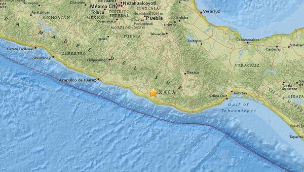Mexico earthquake - Sputnik International