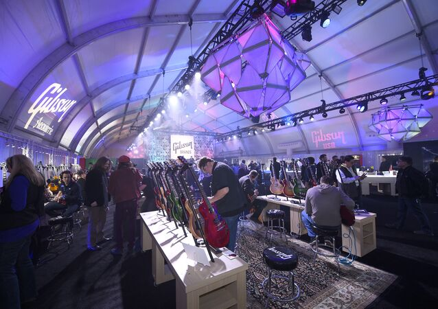 Gibson Brands at CES 2017 in Las Vegas is proudly showcasing new and innovative audio products from Philips, Philips Fidelio, Onkyo and musical instruments from Gibson USA, Gibson Custom, Gibson Memphis, Gibson Acoustic, Epiphone and more. (File)