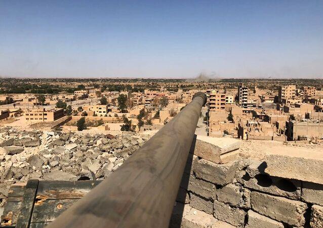 Deir ez-Zor view (File)