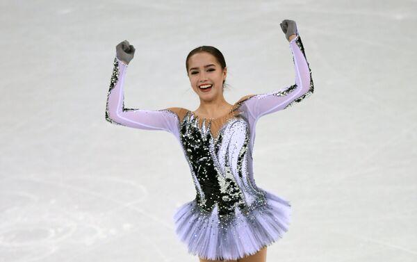 Russian figure skater Alina Zagitova - Sputnik International