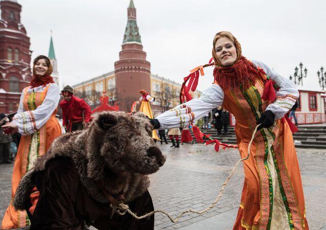 Moscow Maslenitsa festival