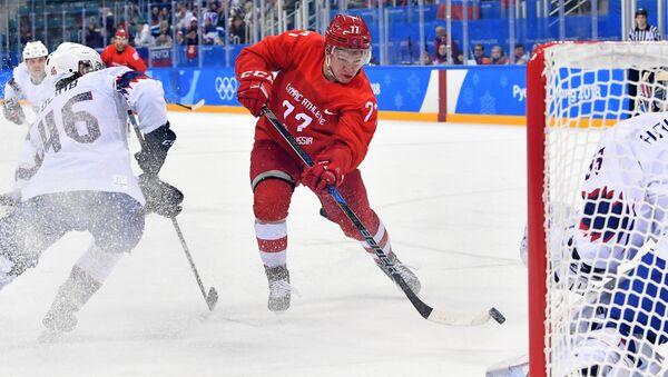 Russia's men's ice hockey team defeated the Norwegian team - Sputnik International
