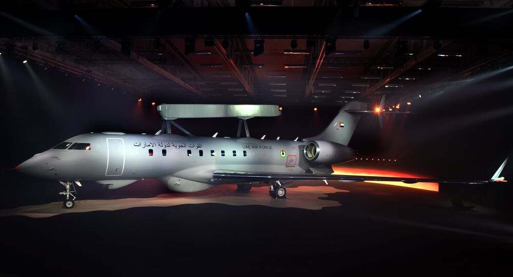 Saab early warning aircraft