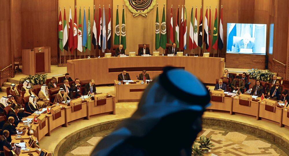 Arab League foreign ministers hold an emergency meeting on U.S. President Donald Trump's decision to recognise Jerusalem as the capital of Israel, in Cairo, Egypt February 1, 2018