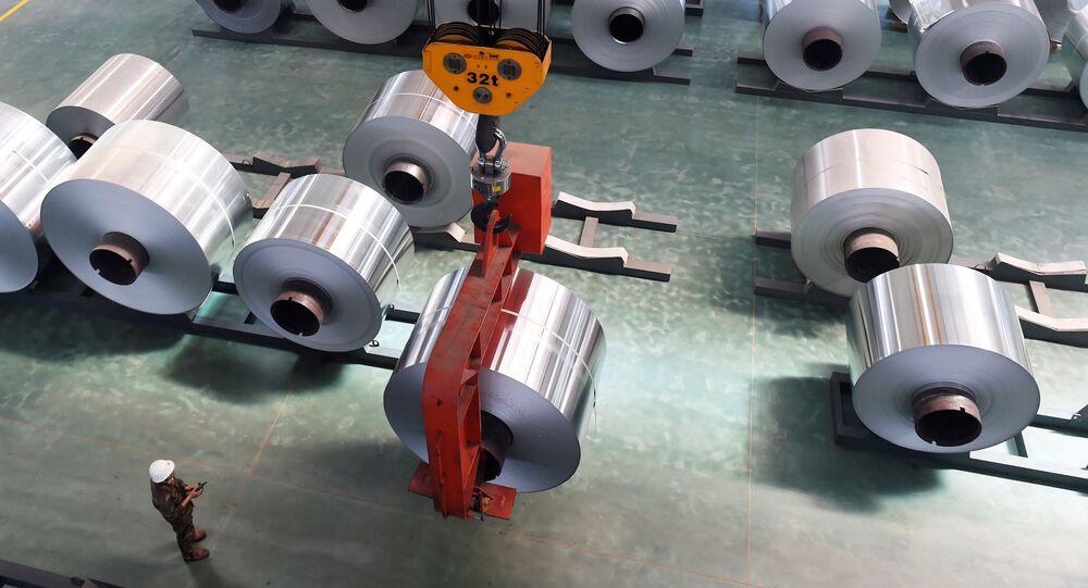 Aluminium-Herstellung in China