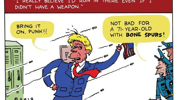 Donald the Dodger - Sputnik International