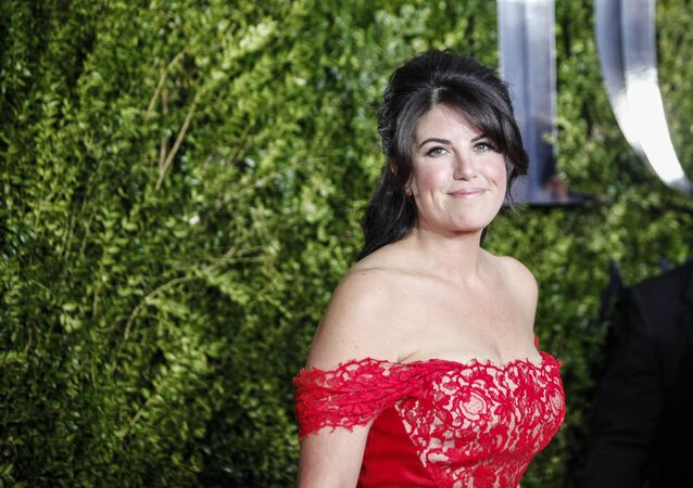 Monica Lewinsky arrives for the American Theatre Wing's 69th Annual Tony Awards at the Radio City Music Hall in New York City. (File)