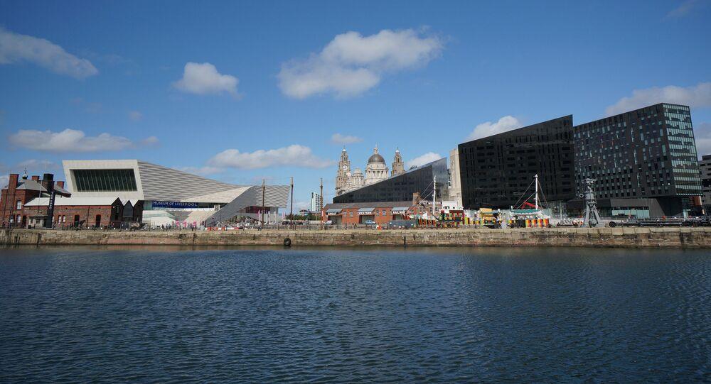 Liverpool Docks - skyline