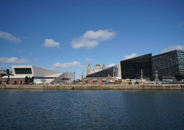 Liverpool Docks - skyline