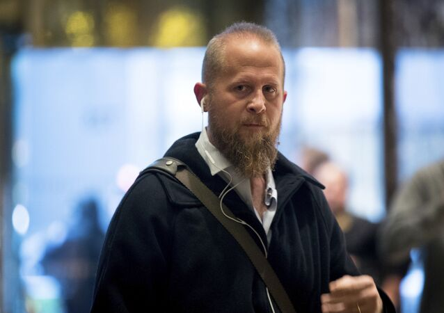 Brad Parscale, who was the President elect Donald Trump's campaign digital director arrives at Trump Tower in New York. (File)