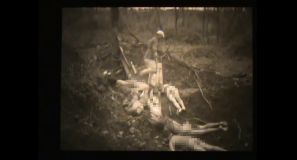 Researchers release new footage of Korean sex slaves murdered during World War II