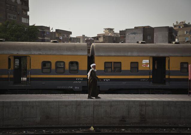 Egypt train. (File)