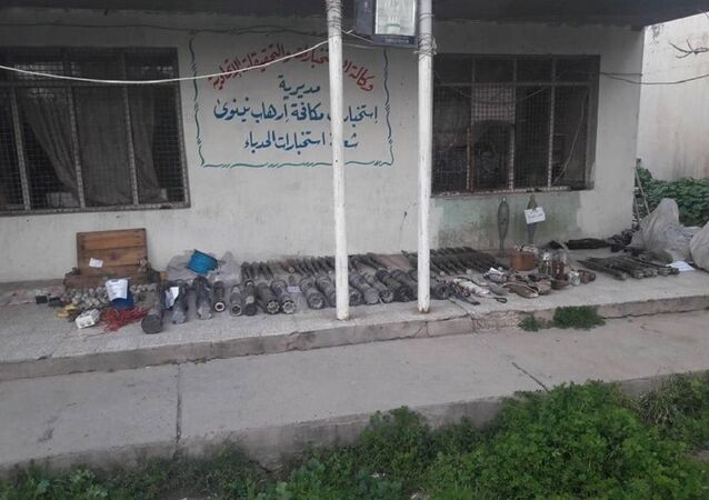 The old Daesh cache is found