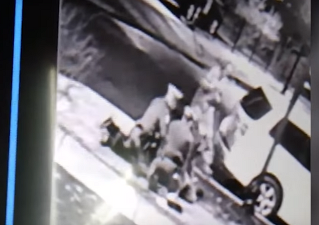 Investigation launched after surveillance footage shows New Jersey cop punching man 12 times