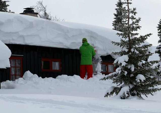 Norway snow