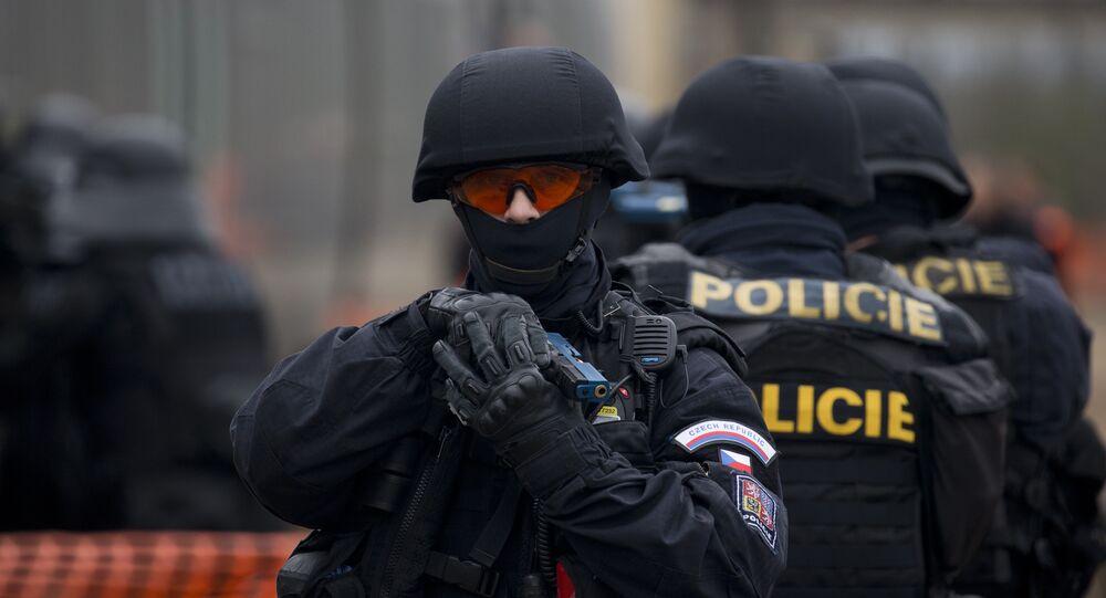 A Republic Czech's policeman. (File)