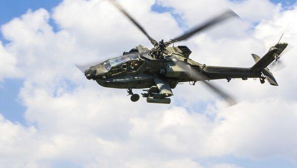 AH-64 Apache helicopter - Sputnik International