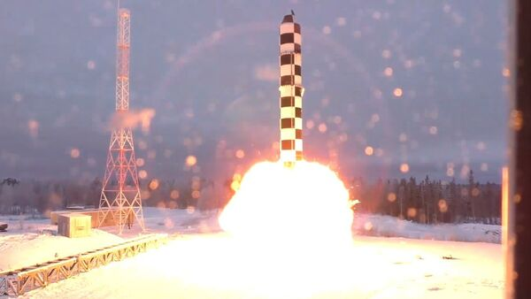 ICBM Sarmat test launch - Sputnik International