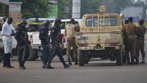 Security forces in Ouagadougou, Burkina Faso (File) - Sputnik International