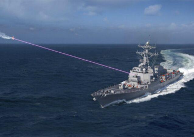 Lockheed Martin's Helios Laser