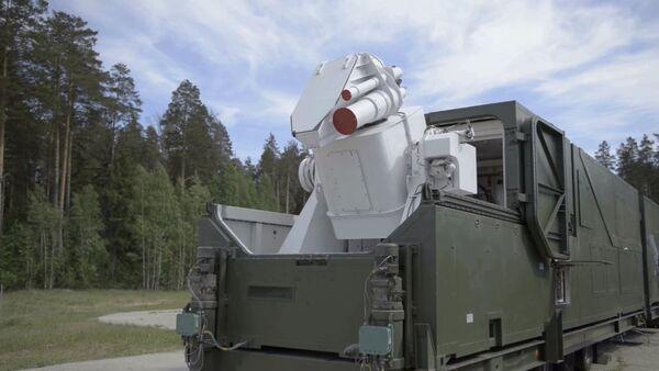Combat laser complex - Sputnik International