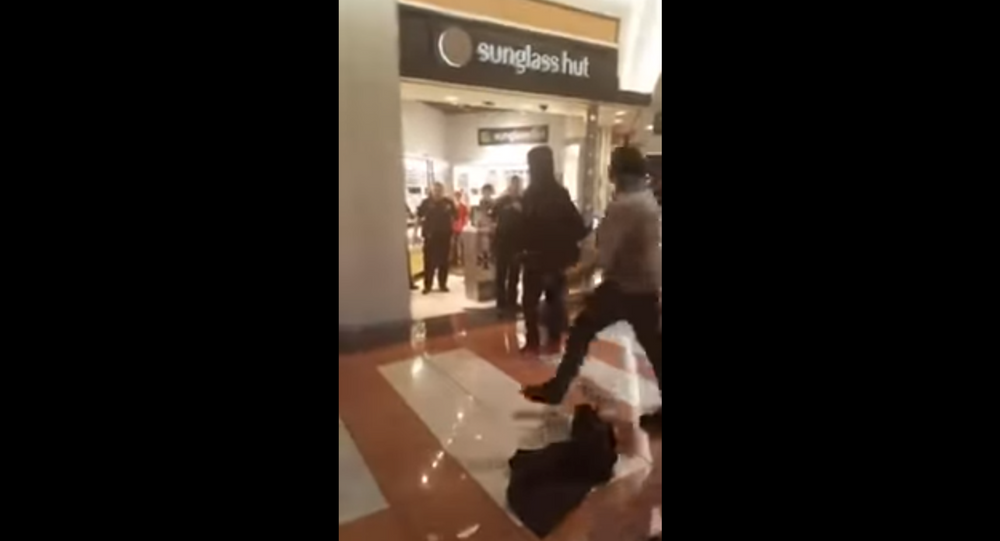 Large fight breaks out at North Carolina's Hanes Mall
