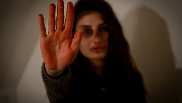 Violence against women - Sputnik International