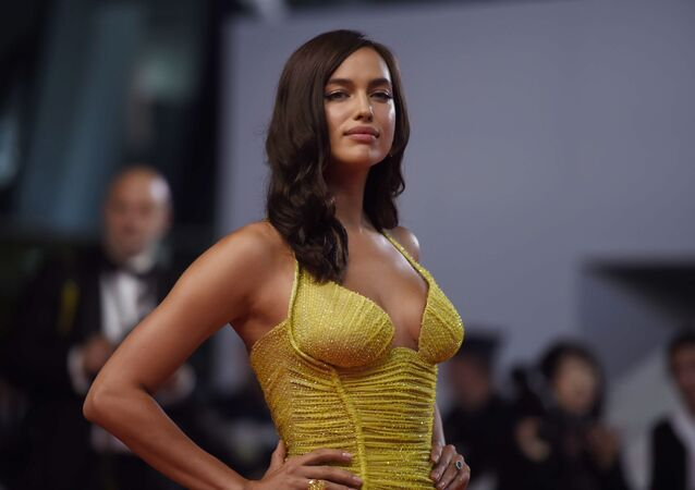 Russian supermodel Irina Shayk at the 70th Cannes International Film Festival.