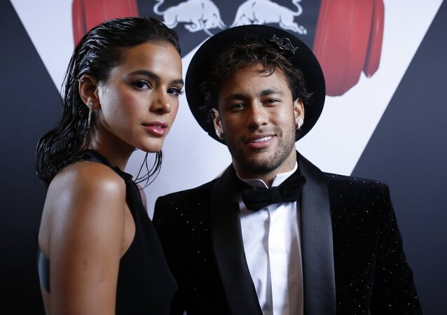 Brazilian footballer Neymar Jr. has celebrated his 26th birthday in style with girlfriend Bruna Marquezine and alongside compatriots Gabriel Jesus and Ronaldo at the lavish Pavillon Cambon in Paris