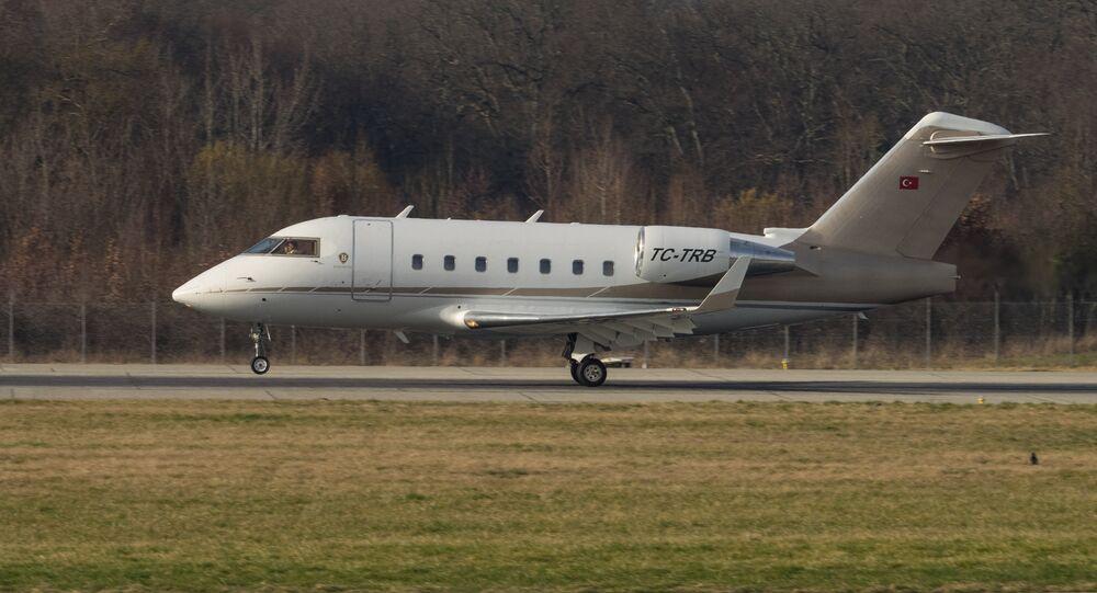 Bombardier CL-600-2B16 TC-TRB