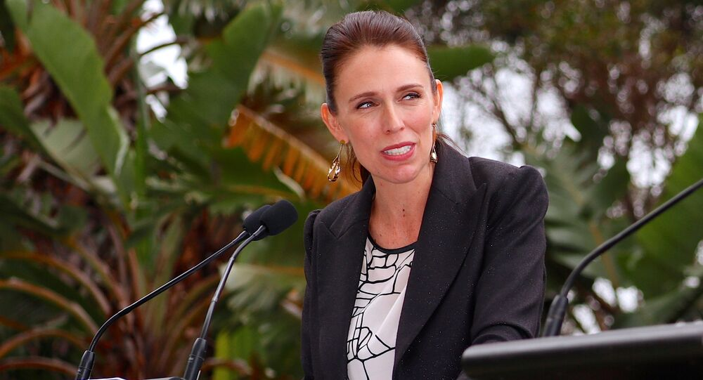 New Zealand Prime Minister Jacinda Ardern reacts during a joint press conference with Australia's Prime Minister Malcolm Turnbull after their bilateral discussions on economic and security issues in Sydney, Australia, March 2, 2018