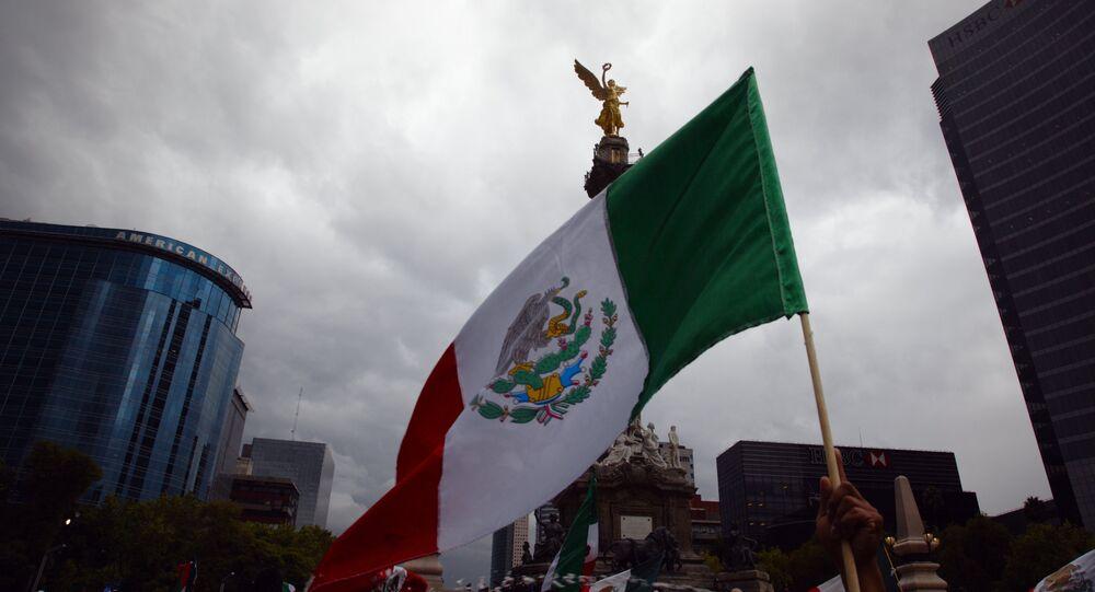 La bandera de México