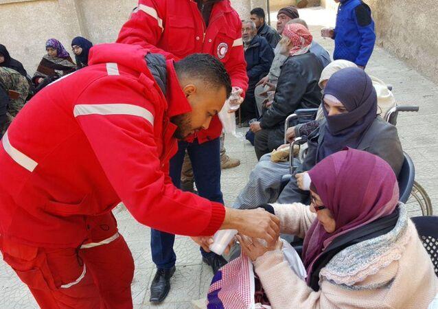 Eastern Ghouta Humanitarian Corridor in Pictures