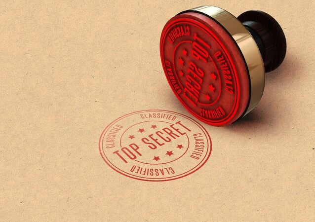 'Top Secret' stamp