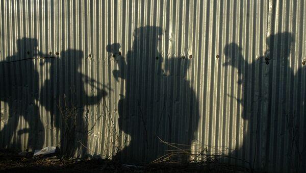 Indian soldiers shadows (File) - Sputnik International