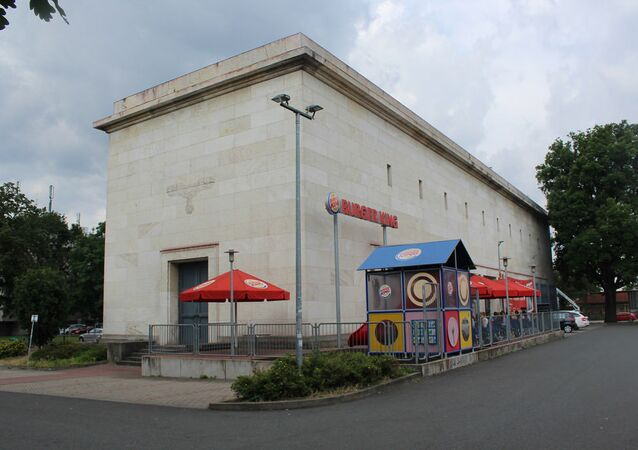A Reddit user published a photo of a Burger King restaurant in Nuremberg located inside the building of a local power substation built on the orders of Adolf Hitler