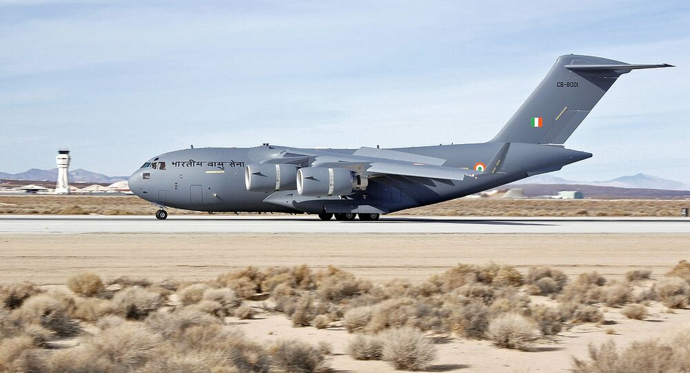 C-17  Indian Air Force
