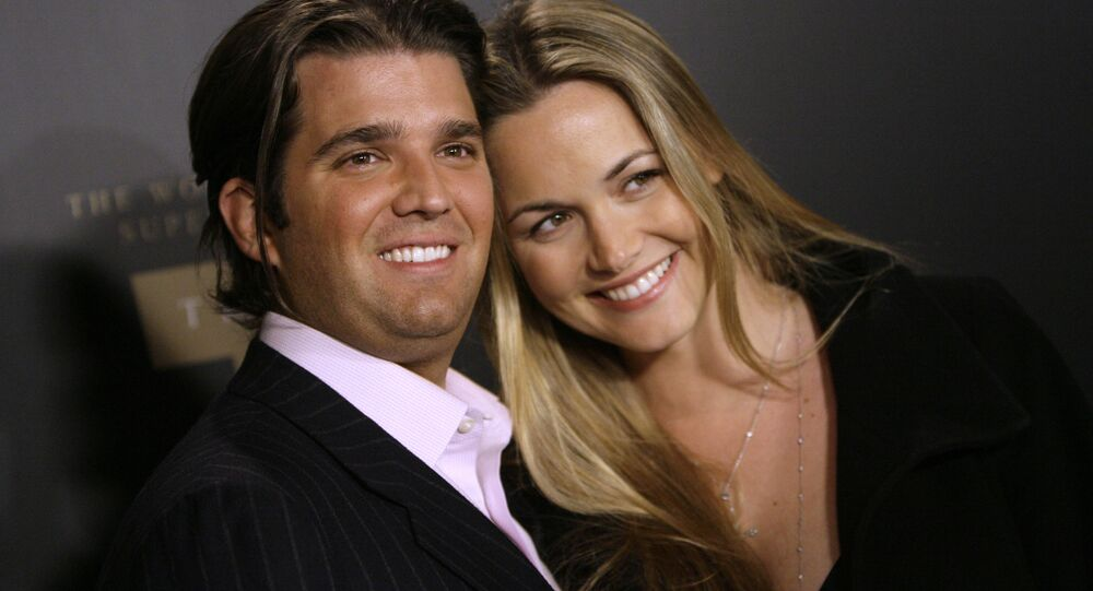 Trump Jr. and Vanessa Trump