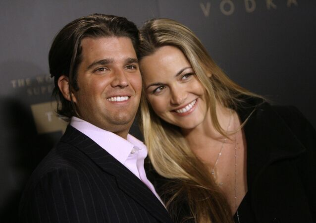 Trump Jr. and Vanessa Trump